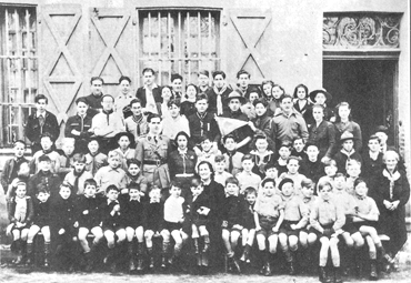 1940. Casa de acogida para niños judíos fundada por los EIF.