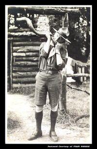 BP sonne du koudou à Gilwell Park