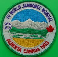 Badge du Jamboree de 1983