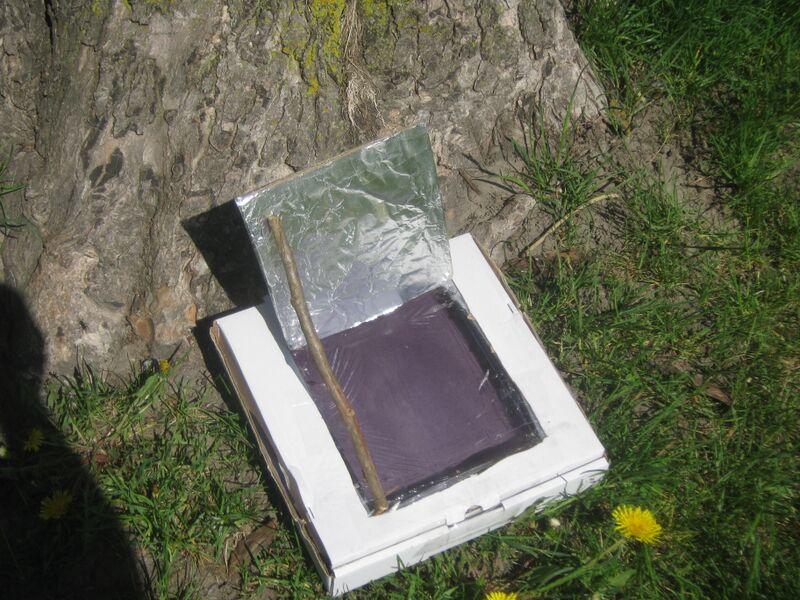 four solaire dans une boite de pizza scoutopedia l 39 encyclop die scoute. Black Bedroom Furniture Sets. Home Design Ideas