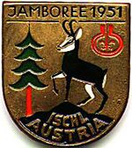 Badge du jamboree de 1951