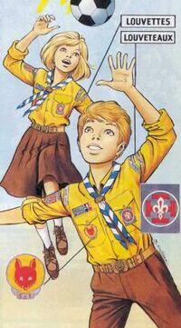 Louveteaux Et Louvettes Scouts De France Scoutopedia L