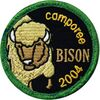 Camporee Bison (Guide – Far West) en Estrie, 2004